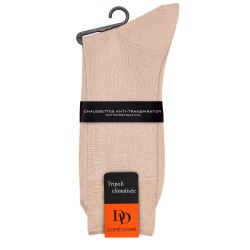 Chaussettes homme anti transpiration Tripoli - Beige
